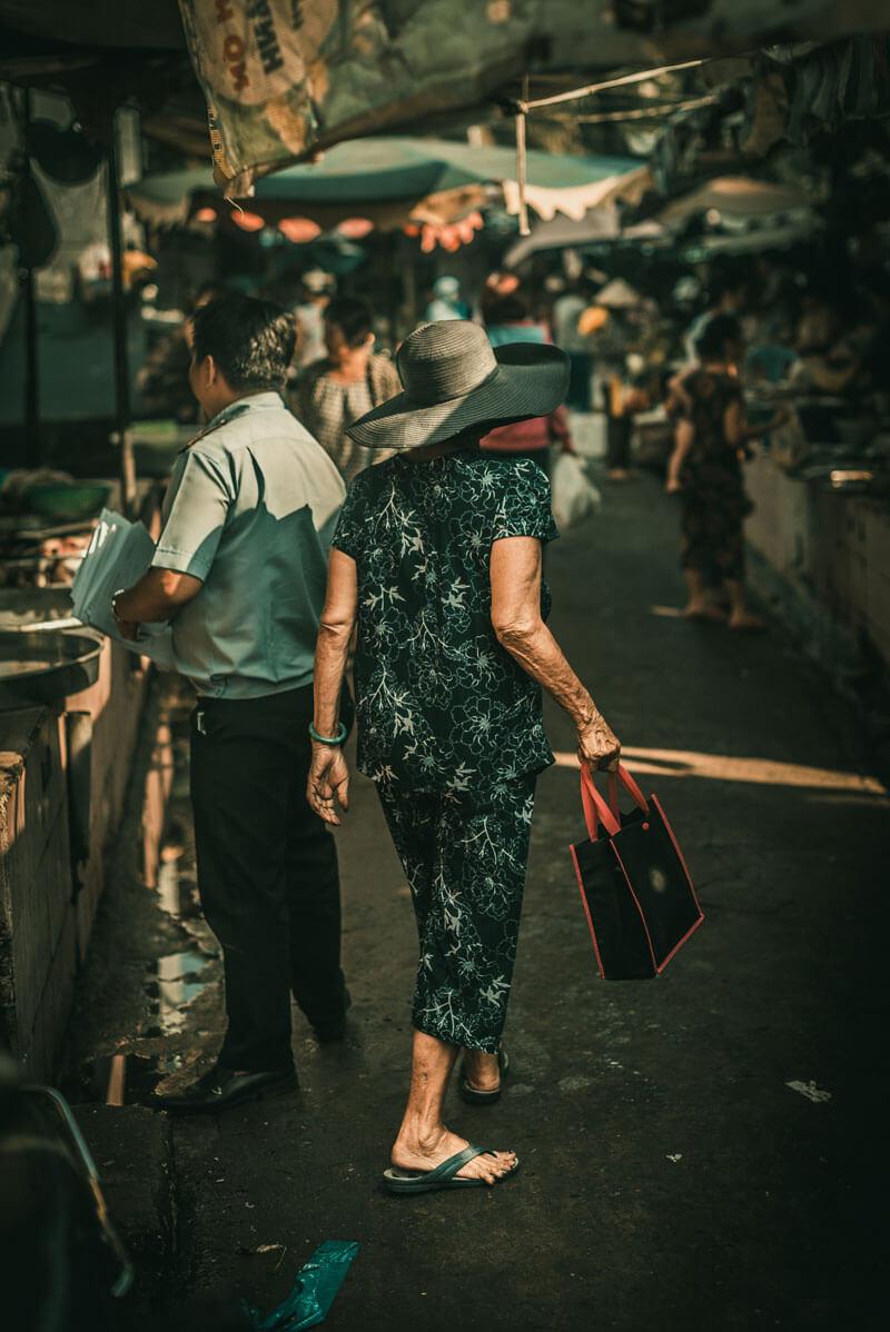 Vietnamese market saigon