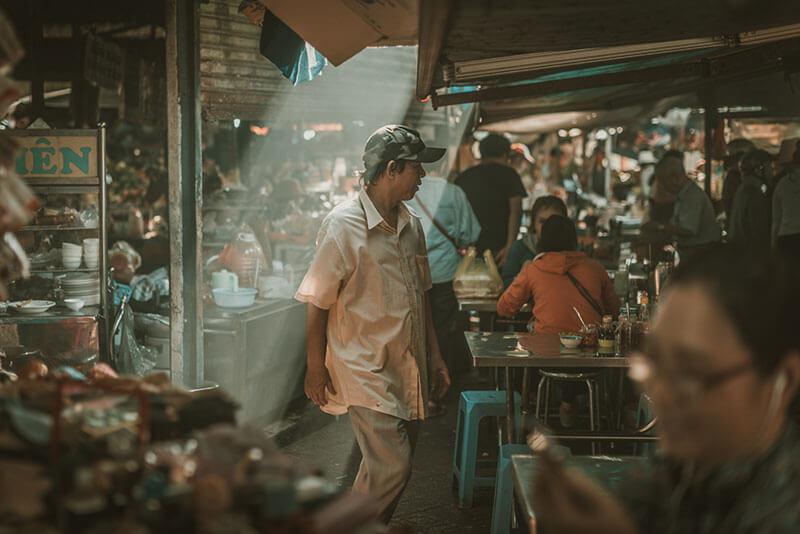 Ho Chi Minh City market by adriaan.du.toit